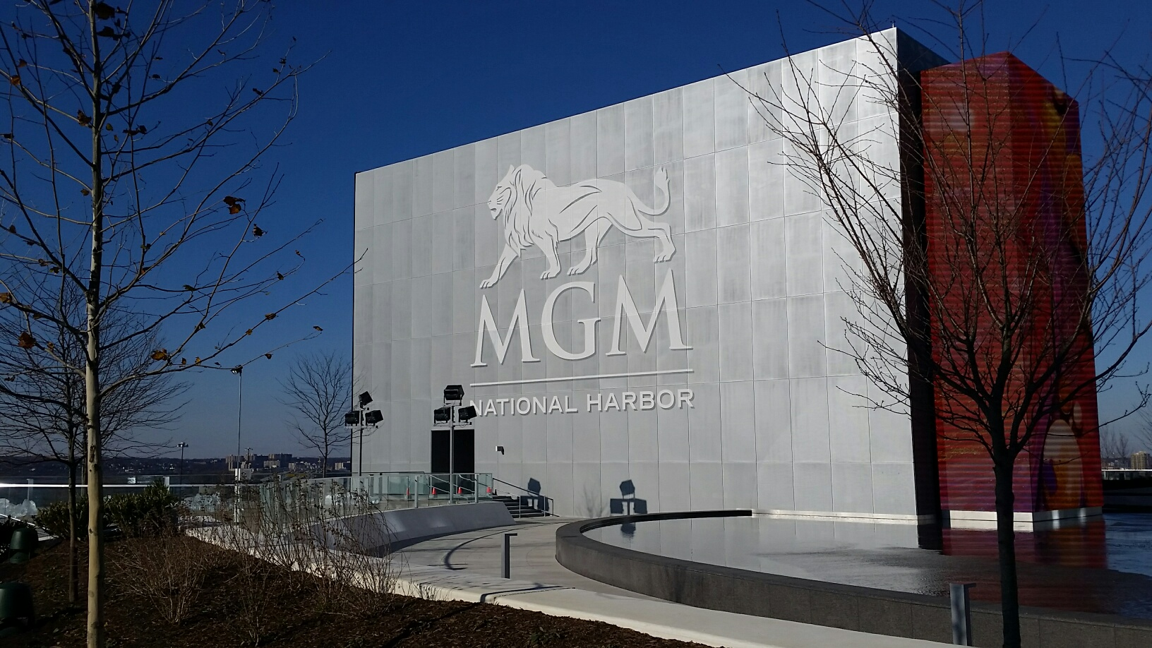 The MGM National Harbor opened in December 2016.  (WTOP/Kathy Stewart)