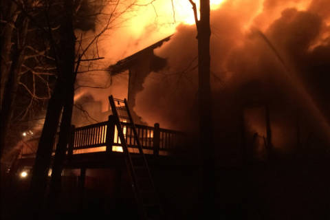 2 Md. fires leave 33 people in the cold