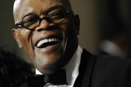 Actor Samuel L. Jackson arrives at the 23rd American Cinematheque Award benefit gala honoring him in Beverly Hills, Calif., Monday, Dec. 1, 2008. (AP Photo/Chris Pizzello)