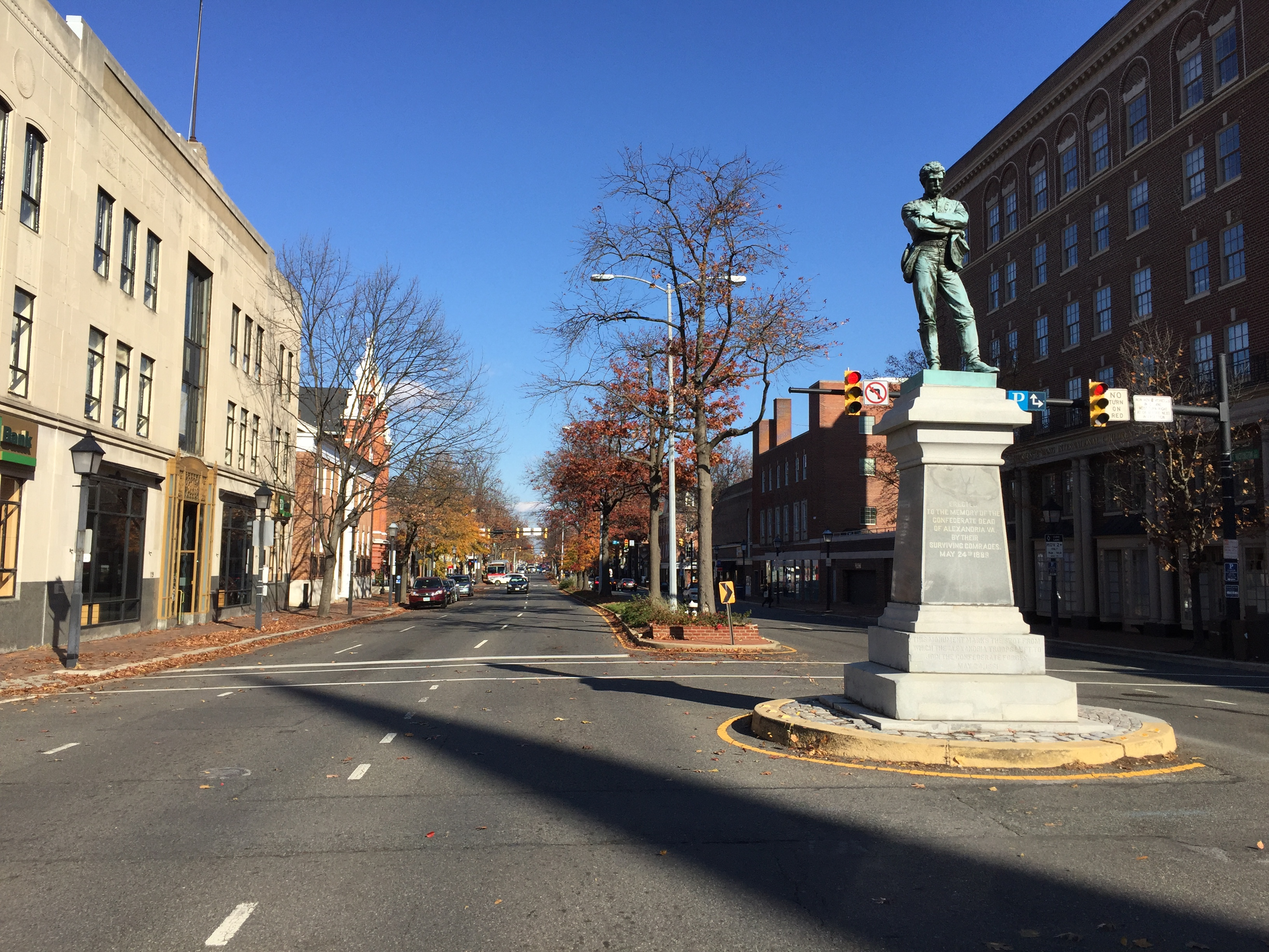 mixed results with changes to alexandria confederate