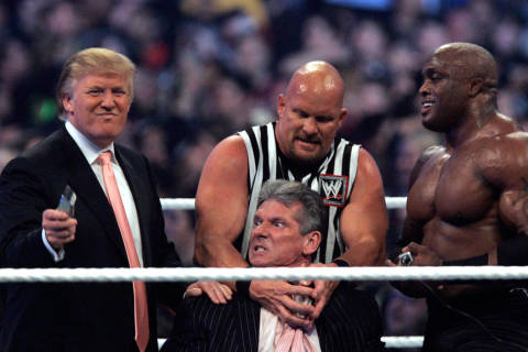 Trump 1st president to be a member of WWE Hall of Fame