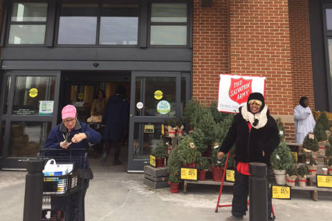 DC's Salvation Army red kettles running on empty