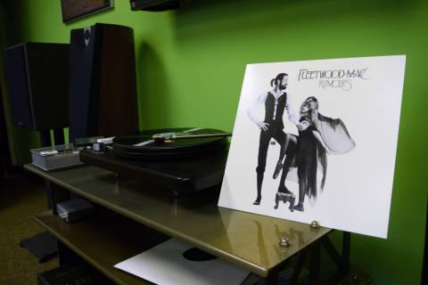 For first time, money spent on vinyl tops album downloads in UK