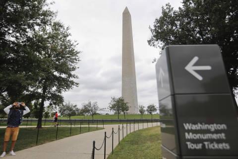 Repairs to keep Washington Monument closed into 2019