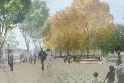 After years of planning, Arlington set to start work on Nauck Town Square