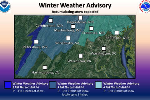 First snow of 2017 over; slick roads expected