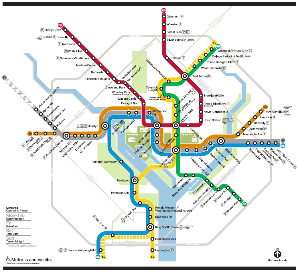 A map of the Metro system. Click to see full size.