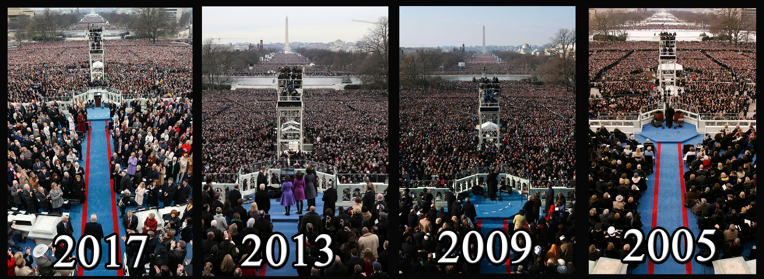 How Did Trump S Inauguration Crowd Compare Photos Wtop,4 Bedroom Mobile Home For Sale Alberta