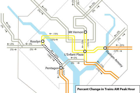 WTOP track work guide: 12th surge, Feb. 11-28