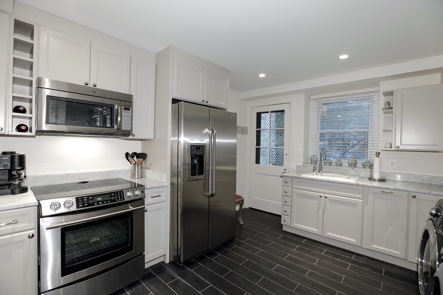 A second kitchen/laundry room in the Obamas' new house, in the Kalorama area of Northwest D.C. (Courtesy McFadden Group)