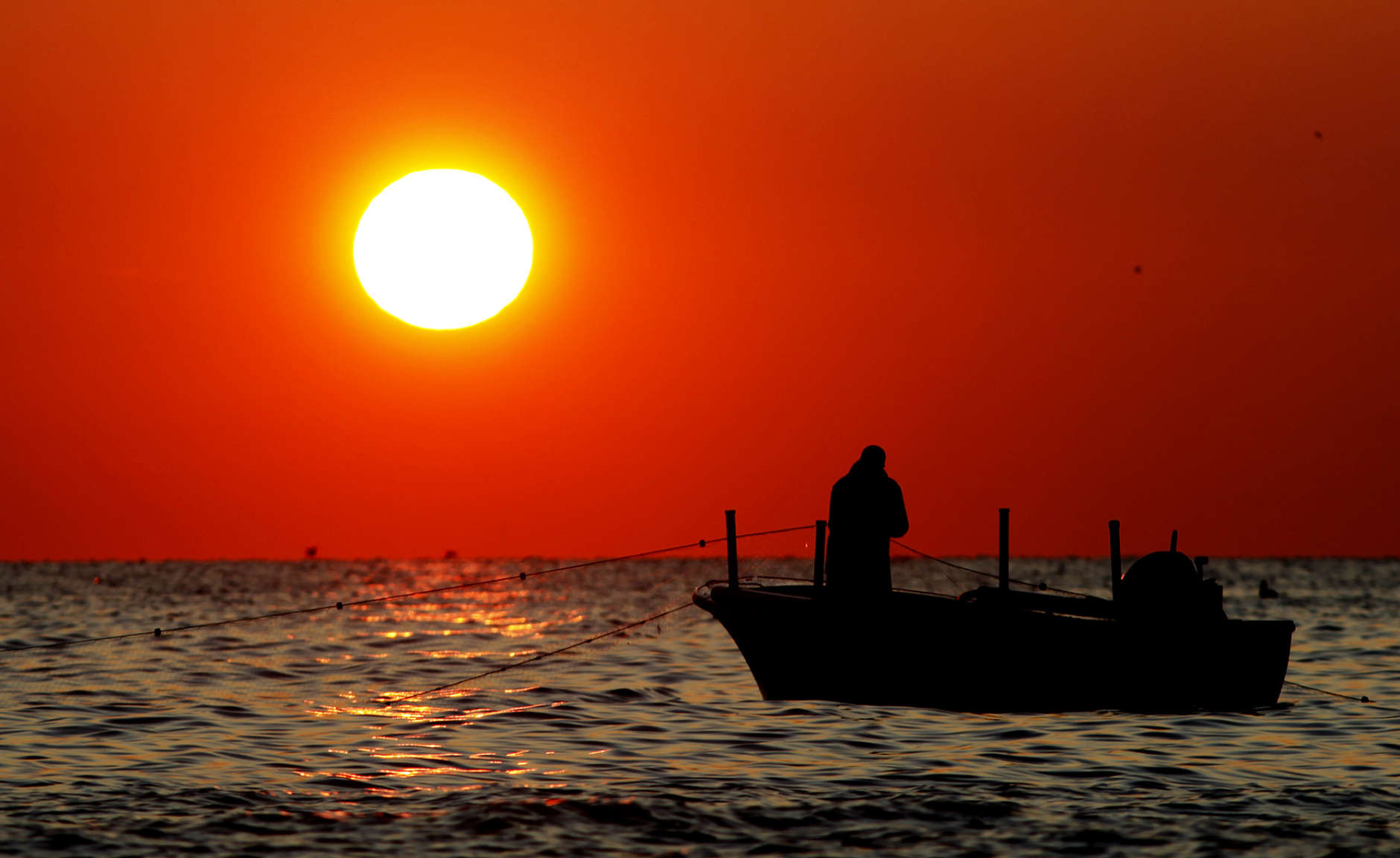 The Chesapeake Bay is healthier in Maryland and Virginia than it is in Pennsylvania.  (AP Photo/Ron Edmonds)