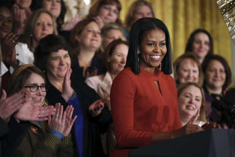 In final speech as first lady, Obama reflects on 'the power of hope'