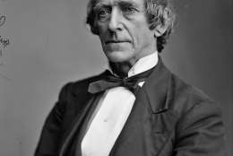 """This circa 1865-1880 photograph provided by the Library of Congress' Brady-Handy Collection shows Lawrence A. Gobright, the Associated Press' first Washington correspondent. A native of Hanover, Pa., Gobright covered both inaugurations of Abraham Lincoln, the Civil War and Lincoln's assassination during a career spanning more than a third of a century in Washington. Under the headline """"Great National Calamity!"""" the AP reported President Abraham Lincoln's assassination, on April 15, 1865. (AP Photo/Library of Congress)"""