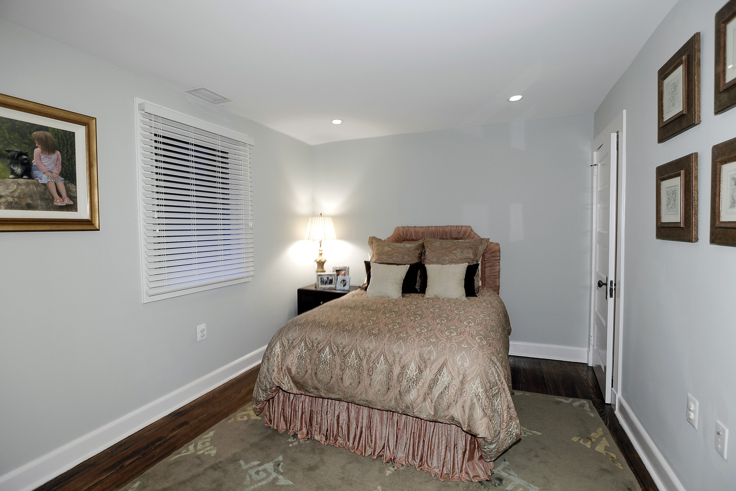 The au pair suite in the Obamas' new house, in the Kalorama area of Northwest D.C. (Courtesy McFadden Group)