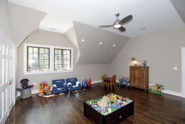 Another bedroom of the Obamas' new house, in the Kalorama area of Northwest D.C. (Courtesy McFadden Group)