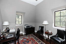 Another bedroom in the Obamas' new house, in the Kalorama area of Northwest D.C. (Courtesy McFadden Group)