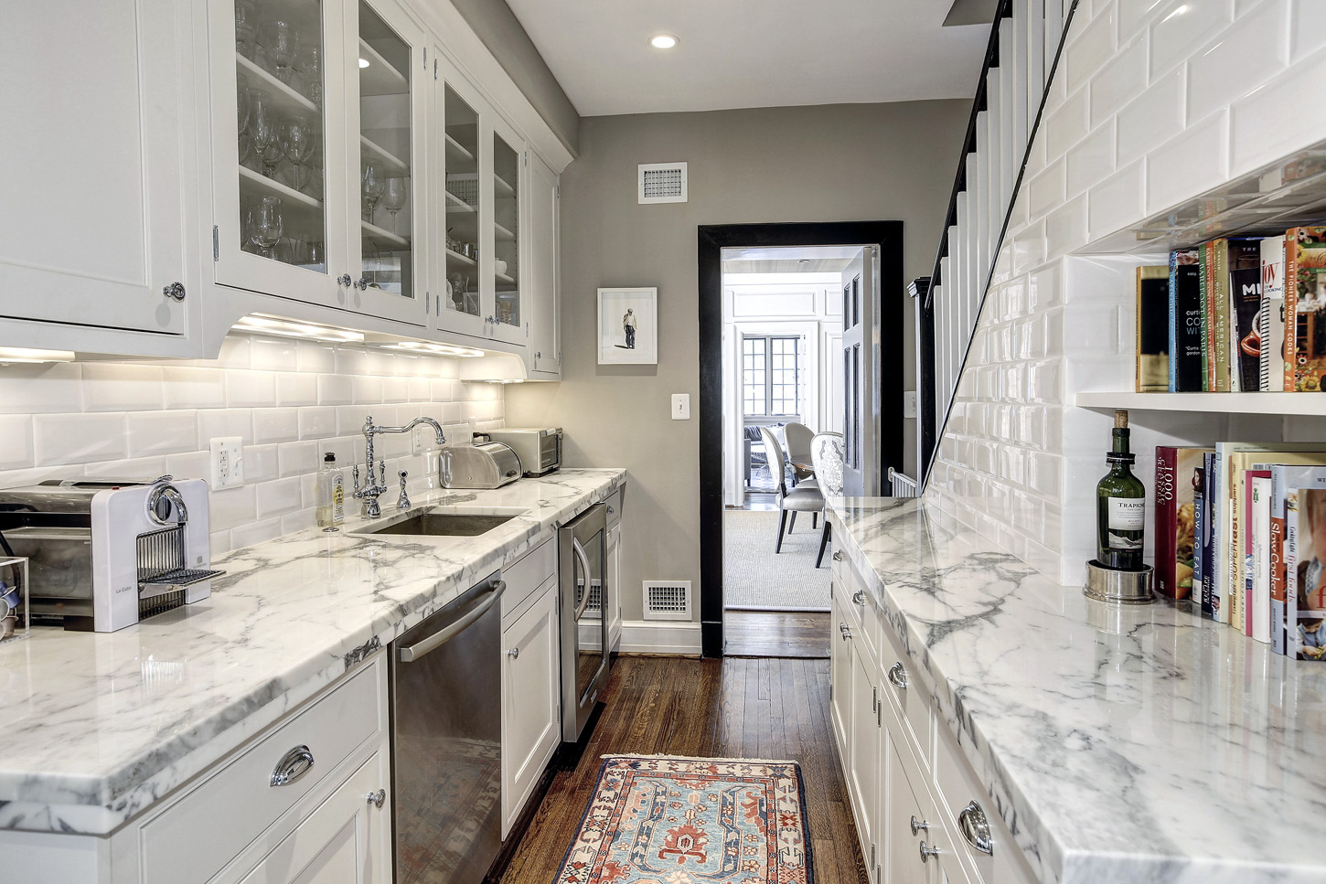 The butler's pantry of the Obamas' new house, in the Kalorama area of Northwest D.C. (Courtesy McFadden Group)