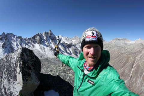 Adventurer Sean Burch looks to leave legacy of climate change awareness