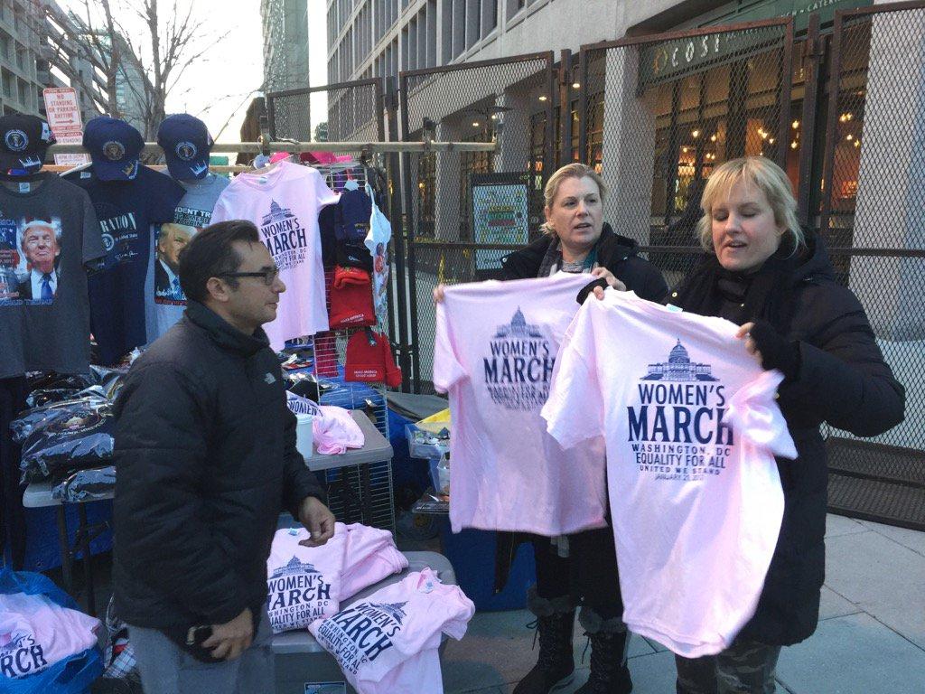 Women's March on Washington kicks off today