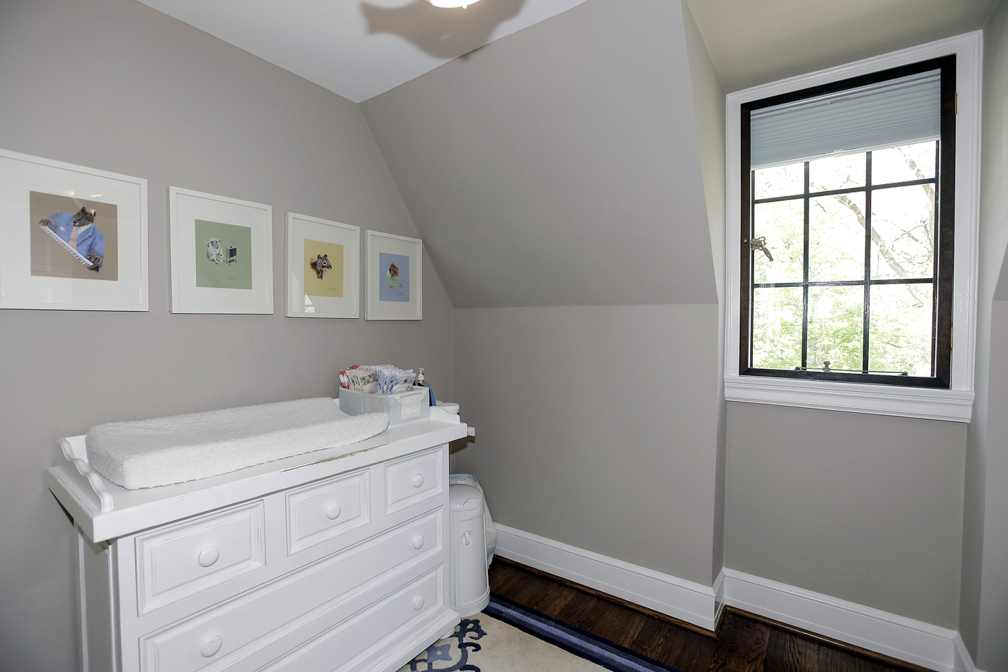 The changing room in the Obamas' new house, in the Kalorama area of Northwest D.C. (Courtesy McFadden Group)