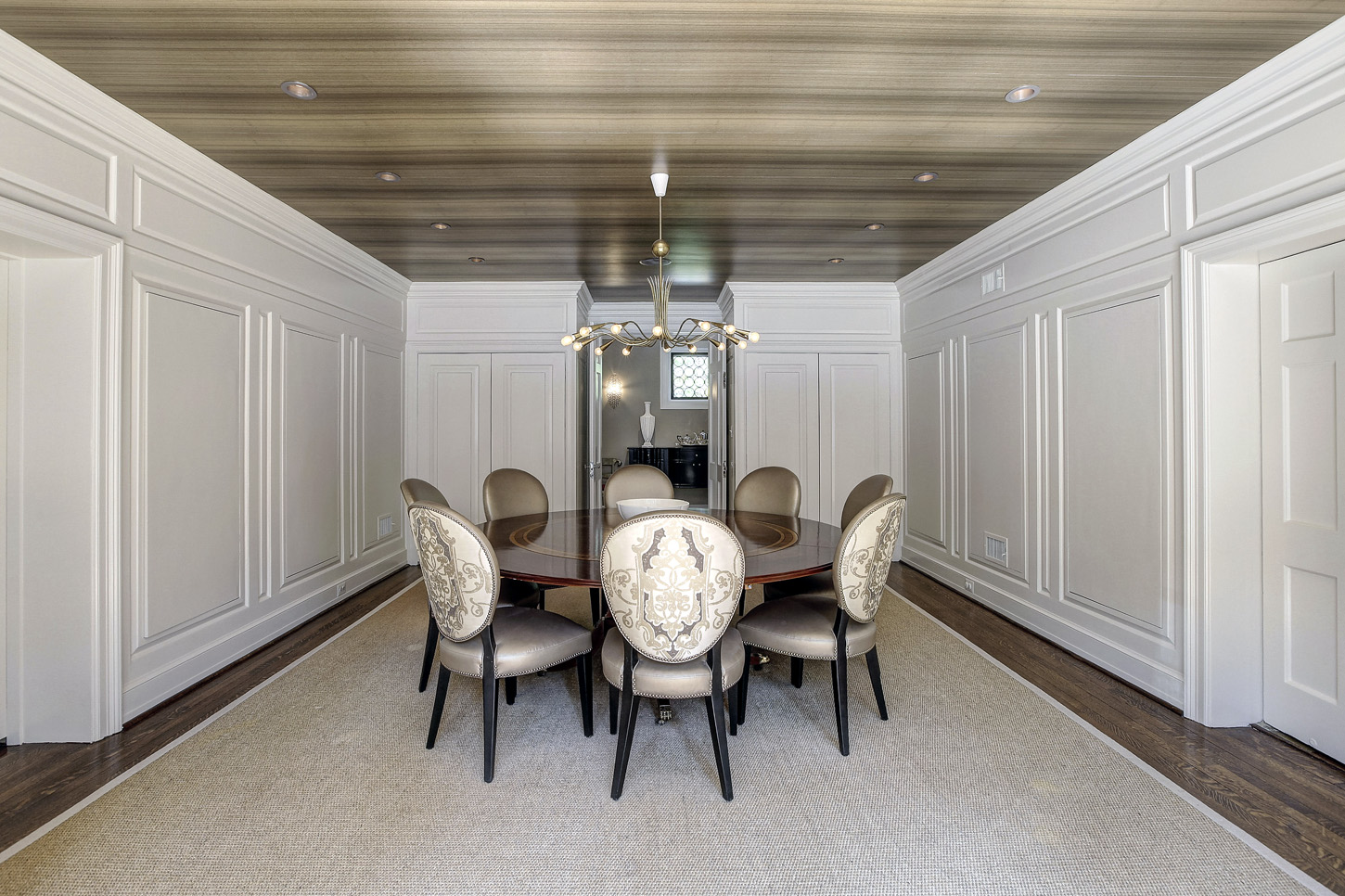 Another view of the dining room of the Obamas' new house, in the Kalorama area of Northwest D.C. (Courtesy McFadden Group)