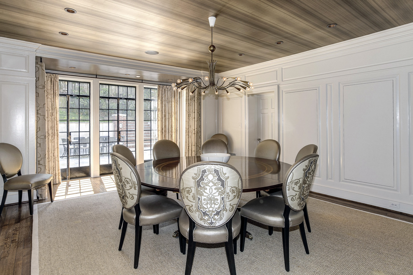 The dining room of the Obamas' new house, in the Kalorama area of Northwest D.C. (Courtesy McFadden Group)