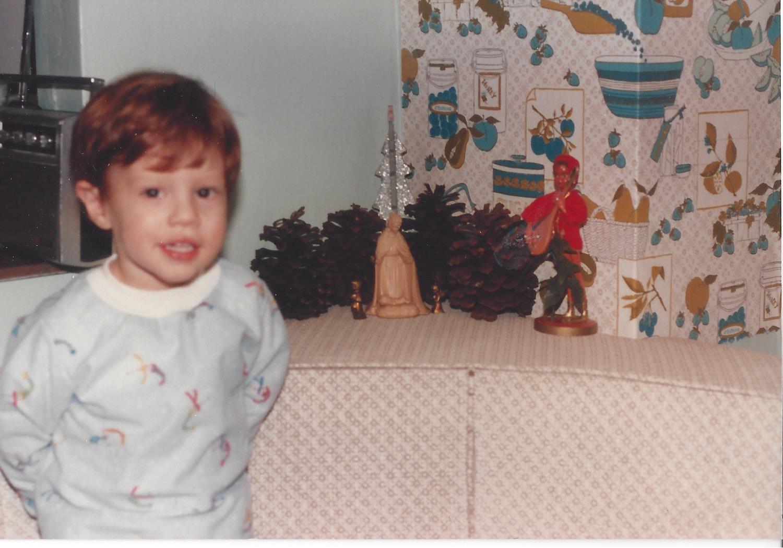 Christmas 1985 (Courtesy Don Wood)