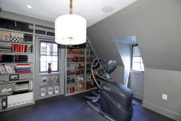 An exercise room/bedroom in the Obamas' new house, in the Kalorama area of Northwest D.C. (Courtesy McFadden Group)