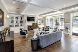 The family room of the Obamas' new house, in the Kalorama area of Northwest D.C. (Courtesy McFadden Group)