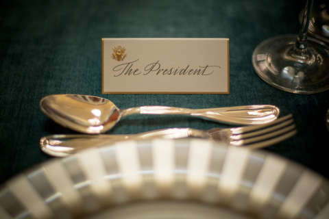 All the presidents' meals: The history of inaugural food