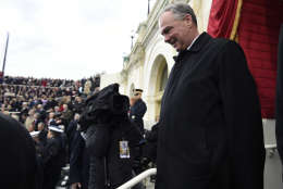 WASHINGTON, DC - JANUARY 20: US Senator Tim Kaine arrives for the Presidential Inauguration of Donald Trump at the US Capitol on January 20, 2017 in Washington, DC. Donald J. Trump will become the 45th president of the United States today.  (Photo by Saul Loeb - Pool/Getty Images)