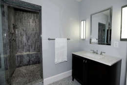 Another bathroom of the Obamas' new house, in the Kalorama area of Northwest D.C. (Courtesy McFadden Group)
