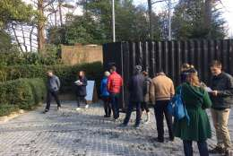 """""""Silent Room"""" drew crowds at the Netherlands Embassy over the weekend. (Courtesy Netherlands Embassy)"""