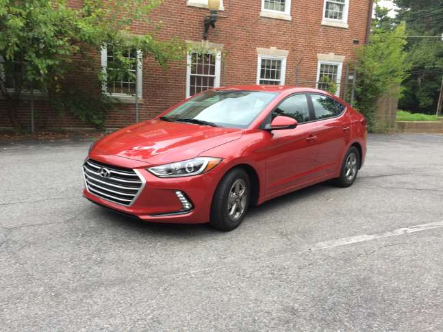 Hyundai S Compact Sedan The Elantra Has Been Redone For 2017 With An Emphasis On Better Fuel Economy At A Reasonable Price Wtop Mike Parris