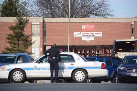 Police: Student shot in leg near Suitland High School