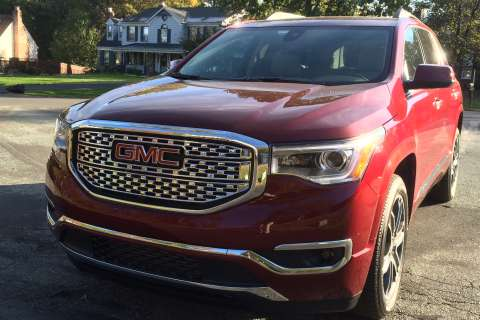 GMC crafts a leaner, more luxurious Acadia
