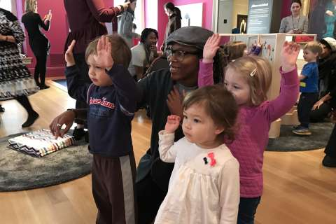 Free children's museum pop-up opens at National Portrait Gallery