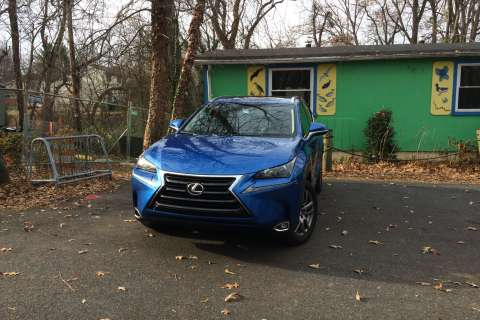 Lexus NX200t: A small, standout luxury crossover
