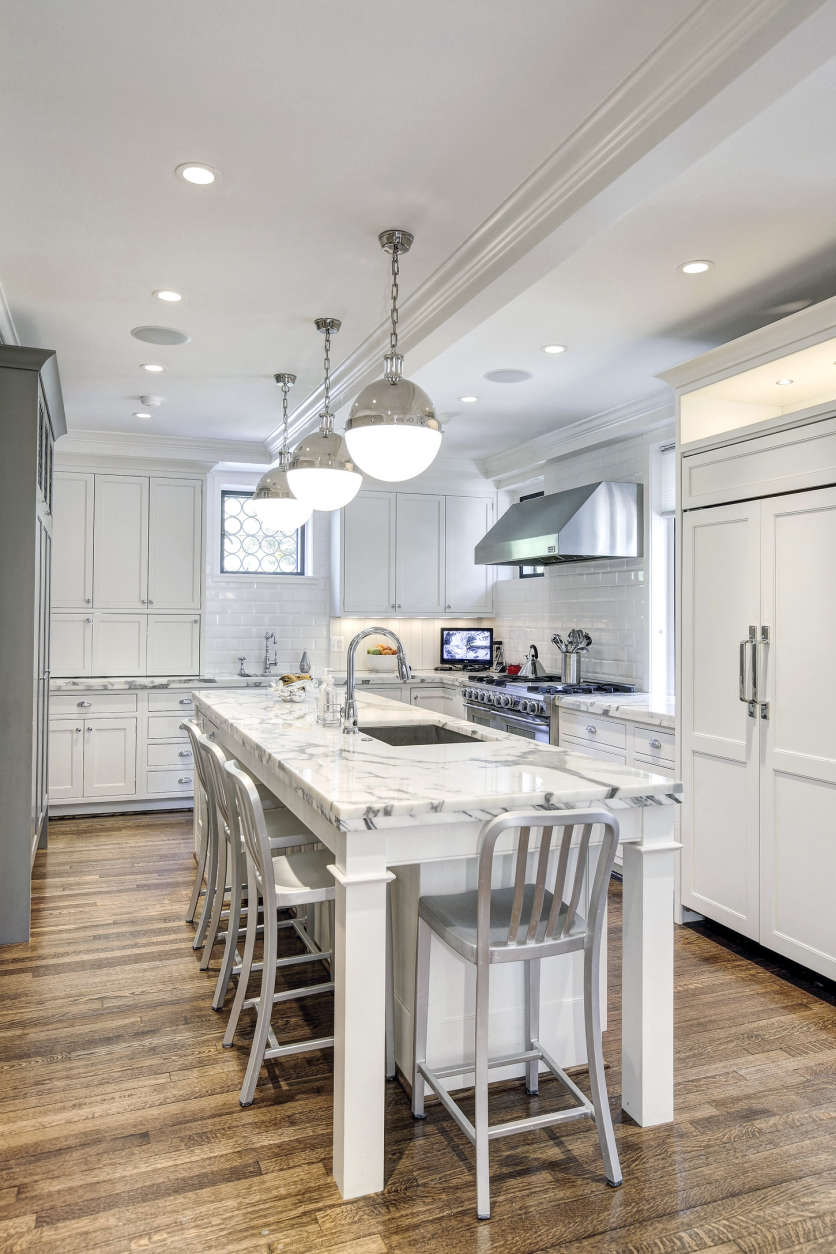 The kitchen of the Obamas' new house, in the Kalorama area of Northwest D.C. (Courtesy McFadden Group)