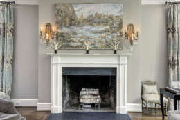 The living room of the Obamas' new house, in the Kalorama area of Northwest D.C. (Courtesy McFadden Group)