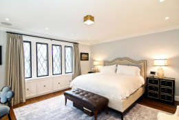 The master suite of the Obamas' new house, in the Kalorama area of Northwest D.C. (Courtesy McFadden Group)