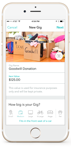 Goodwill Partners With Roadie App For Home Pickup In Dc Wtop