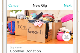 "Atlanta-based Roadie, with an active network in the D.C. region, calls itself an ""on-the-way"" delivery network, and will pick up unwanted items -- clothing, furniture, bicycles, etc. -- and take them to the nearest Goodwill donation center from now through Feb. 28. (Courtesy Roadie)"