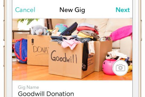 Goodwill partners with Roadie app for home pickup in DC