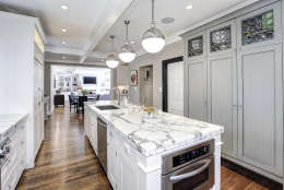 A view of the kitchen of the Obamas' new home. (Courtesy McFadden Group)