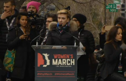 Watch: Johansson, Judd, Keys and more speak at Women's March