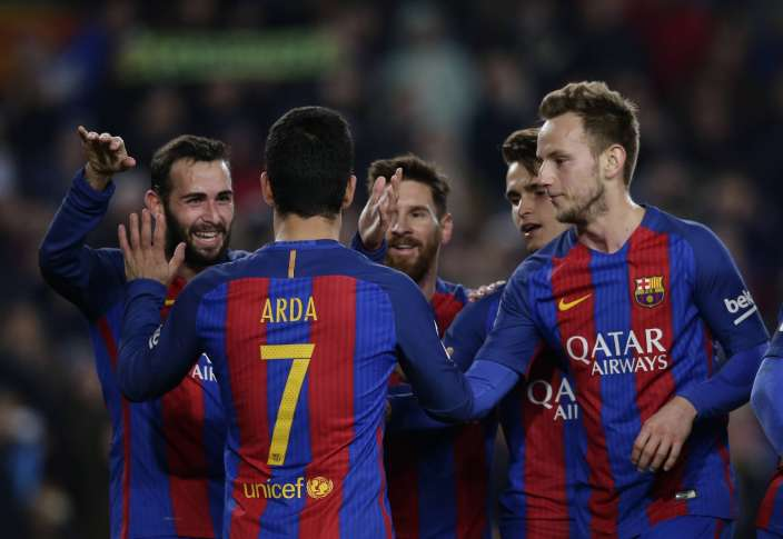 Barcelona to face Atletico Madrid in Copa del Rey semi-final