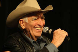 """American rock and roll, country, and western swing musician Tommy Allsup died Jan. 11, 2017. Allsup worked with entertainers such as Buddy Holly and Bob Wills & His Texas Playboys. Allsup was touring with Holly, Ritchie Valens, and J.P. """"The Big Bopper"""" Richardson when he lost a fateful coin toss with Valens for a seat on the plane that crashed, killing Valens, Holly, Richardson, and the pilot on February 3, 1959. (Wikimedia/Eric Shaiman)"""