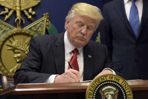 All the executive actions Donald Trump has signed this week