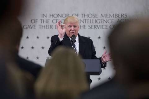 Report: Trump's CIA visit made relations with intelligence community worse